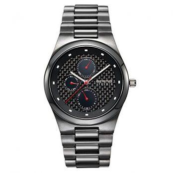 Bering Uhr | Herrenuhr | Armbanduhr Herren Bering | schwarze armbanduhr