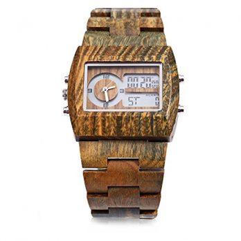 bambusholzuhr | herren armbanduhr bambusholz