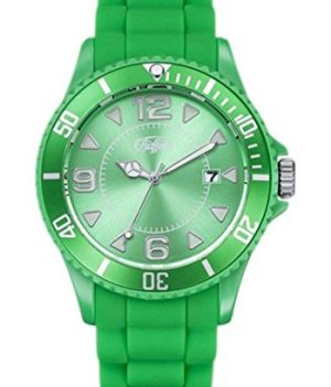 buffalo armbanduhr | grüne armbanduhr | silikonarmbanduhr