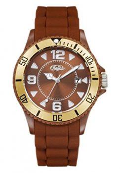 buffalo armbanduhr | silikonband armbanduhr | braun gold-armbanduhr