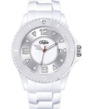 buffalo armbanduhr | weißes silikonarmband | silikonarmbanduhr