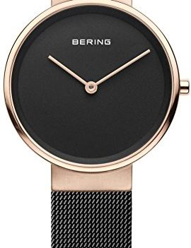 Uhr mit Milanaiseband | Armbanduhr schwarz Uhren mit Milanaiseband