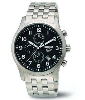 herren armbanduhr   chronographen titan uhr   titanuhr