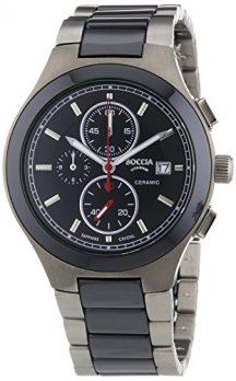 herren armbanduhr   titanium chronographen uhr