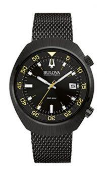 Bulova Uhr | Armbanduhr schwarz | Herrenuhr schwarz