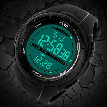 out door uhr | multifunktionsuhr | armbanduhr out door | silikon schwarz armbanduhr  herren