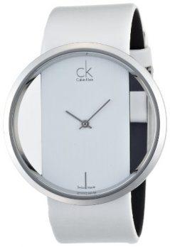 Calvin Klein Uhren   Calvin Klein Damenuhr   weiße Damenarmbanduhr   Armbanduhr weiß