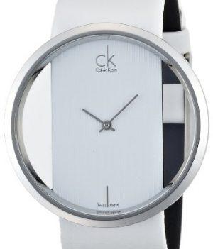 Calvin Klein Uhren   Calvin Klein Damenuhr   hellblaue Damenarmbanduhr   Armbanduhr hellblau