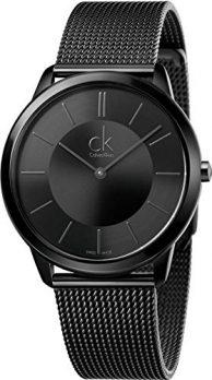 Calvin Klein Uhren   Herrenarmbanduhr Calvin Klein   Schwarze Herrenuhr