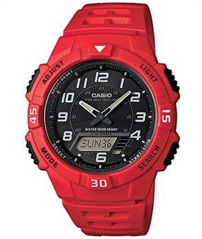 rote armbanduhr | solar armbanduhr | herrenuhr rot