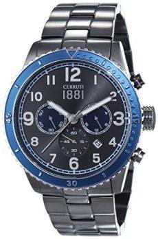 Cerruti Uhr | Herrenarmbanduhr blau