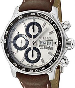 Ebel Uhr   Herrenuhr Ebel   Chronograph Uhr Herren   Herrenuhr mit Lederband