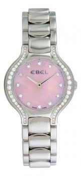 Ebel Uhr   Damenuhr Ebel   Damenuhr mit Pink Ziffernblatt