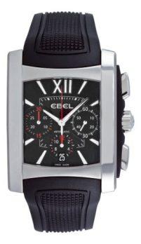 Ebel Uhr   armbanduhr mit schwarzem Ziffernblatt   dunkle Armbanduhr   schwarze Armbanduhr