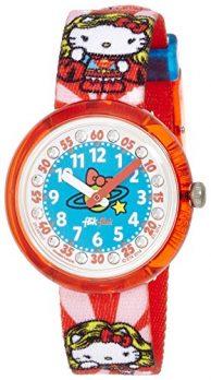 Flik Flak Uhr   Kinderuhr Flik Flak    Kinderarmbanduhr   Rote Kinderuhr  