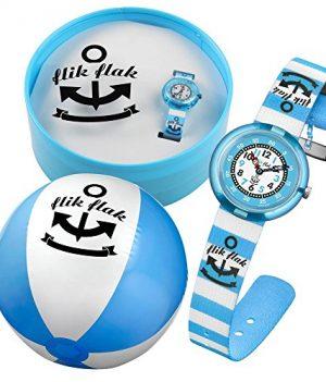 Flik Flak Uhr   Armbanduhr Kinder   Blaue Kinderarmbanduhr   Jungen Armbanduhr   Blaue Jungsuhr