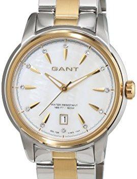 Gant Uhr | Armbanduhr Damen | Edelstahl Uhr Damen | Damenarmbanduhr Edelstahl