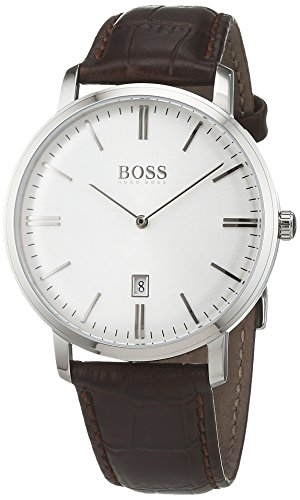 hugo boss 1513462 tradition uhr herrenuhr lederarmband. Black Bedroom Furniture Sets. Home Design Ideas