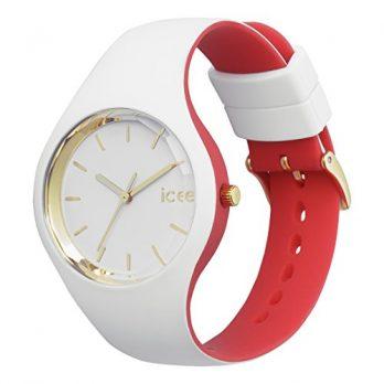 ice watch uhr | armbanduhr ice watch | weiß-rote armbanduhr | damenuhr rot-weiß