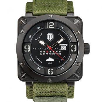 herrren armbanduhr out door | multifunktion armbanduhr  |  leuchtende armbanduhr | grüne armbanduhr | militäruhr