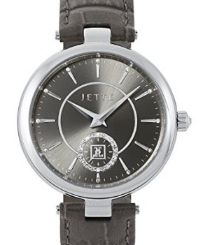 Jette Uhr   Armbanduhr Jette   Damenuhr Jette   graue Armbanduhr Damen