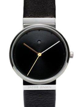 Jacob Jensen Uhren | Armbanduhr Jacob Jensen | schwarze Armbanduhr