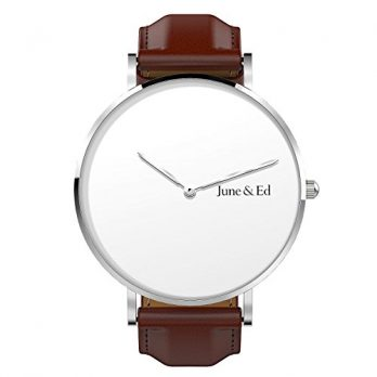 June & Ed Uhr | Armbanduhr June & Ed | Herrenuhr | Lederarmbanduhr Herren |