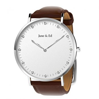 June & Ed Uhr | herrenuhr | Lederarmbanduhr herren | Armbanduhr June & Ed