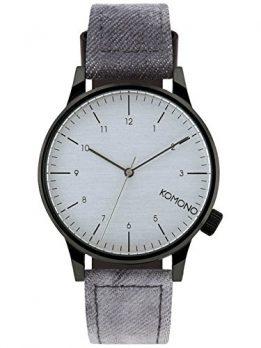 Komono Uhr | Armbanduhr Komono | Herrenuhr Komono | graue herrenarmbanduhr