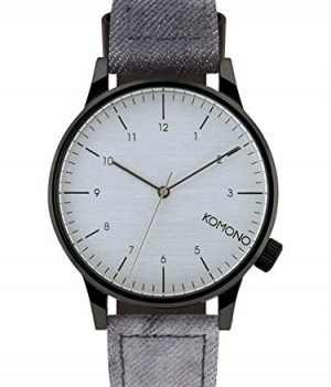 Komono Uhr | Armbanduhr Komono | Damenuhr Komono | graue herrenarmbanduhr