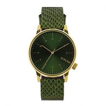 Komono Uhr | Armbanduhr Komono | Herrenuhr Komono  | grüne Herrenuhr | grüne armbanduhr