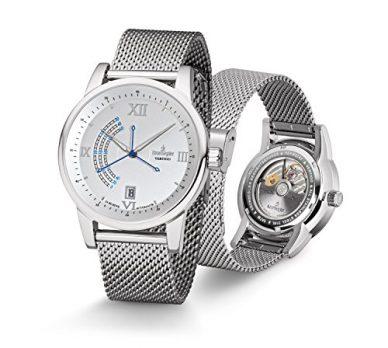 Uhren mit Milanaiseband | silberne Armbanduhr mit Milanaiseband