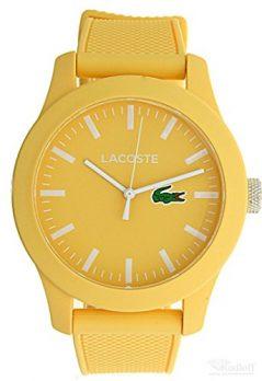 Lacoste Uhr | Armbanduhr Lacoste| Damenuhr Lacoste | Gelbe Damenuhr | Armbanduhr Geld