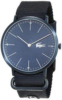 Lacoste Uhr | Armbanduhr Lacoste| Herrenuhr Lacoste | Armbanduhr mit textilarmband | Herrenuhr mit textilarmband
