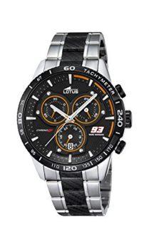 Lotus Uhr | Armbanduhr Lotus | Herrenuhr Lotus  | Armbanduhr silber schwarz