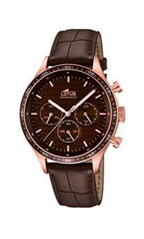 Lotus Uhr | Armbanduhr Lotus | Herrenuhr Lotus  | Lederarmbanduhr