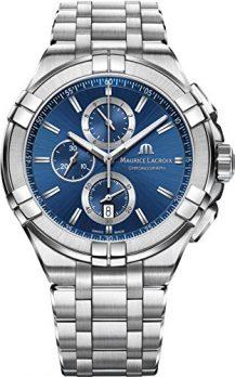 Maurice Lacroix Uhr | Armbanduhr Maurice Lacroix | Herrenuhr Maurice Lacroix | chronograph Uhr | Herrenuhr mit blauem Ziffernblatt