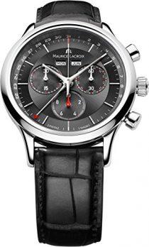 Maurice Lacroix Uhr | Armbanduhr Maurice Lacroix | Herrenuhr Maurice Lacroix | Schwarze herrenuhr