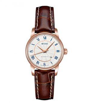 Armbanduhr Braun | Automatik Leder Armbanduhr