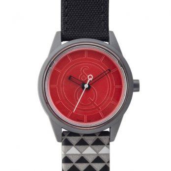 solaruhr | rote armbanduhr