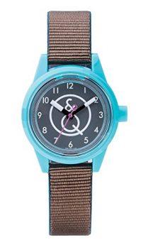 solaruhr | damenuhr blau-braun | kinderuhr braun-blau | armbanduhr mit solarfunktion