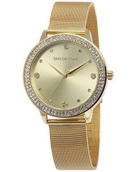 Uhren mit Milanaiseband | goldene Damenuhr  mit Milanaiseband