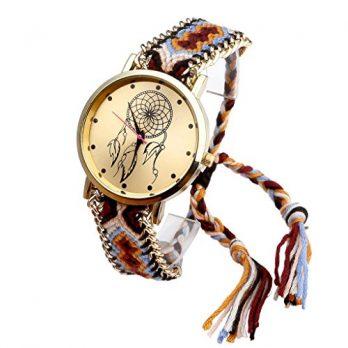 Armbadnuhr Damen | Gewebe Armbanduhr