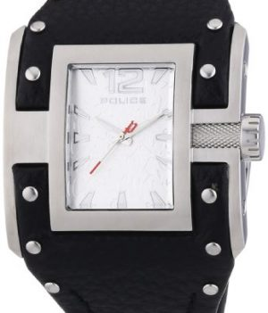Police Uhr | Armbanduhr Police | Damenuhr Police | Schwarze Lederuhr Damen