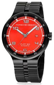 Porsche Uhr | Armbanduhr Porsche | Herrenuhr Porsche | Armbanduhr Herren mit rot