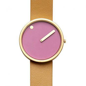 Rosendahl Uhr | Armbanduhr Rosendahl | Damenuhr Rosendahl | Lederarmbanduhr | armbanduhr mit pink ziffernblatt