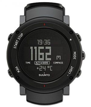 Suumto Uhr | Armbanduhr mit Barometer und Höhenmesser | Armbanduhr mit Kompass und Sonnenaufgangs- und Sonnenuntergangszeiten