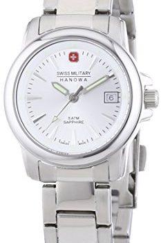 Swiss Military Hanowa Uhr   Armbanduhr Swiss Military Hanowa   Damenuhr Swiss Military Hanowa   edelstahl analoge armbanduhr damen
