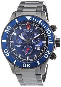 Swiss Military Hanowa Uhr   Armbanduhr Swiss Military Hanowa   Herrenuhr Swiss Military Hanowa   analoge herrenuhr   armbanduhr analog herren blau   armbanduhr herren blau