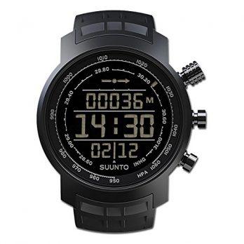 Suumto Uhr | Armbanduhr mit Barometer und Höhenmesser | Armbanduhr mit Kompass und digitale Thermometer